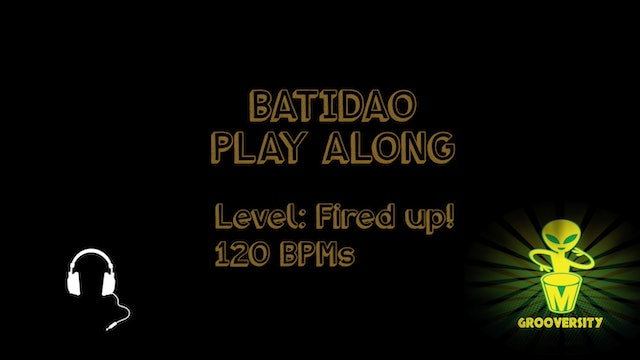 Batidao Playalong Fired uP! 120bpms