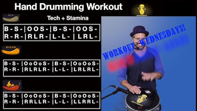 Hand Drum Workout #1
