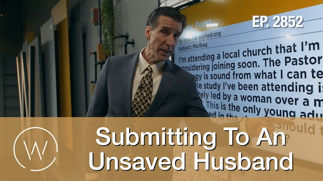 Submitting To An Unsaved Husband - Wretched TV