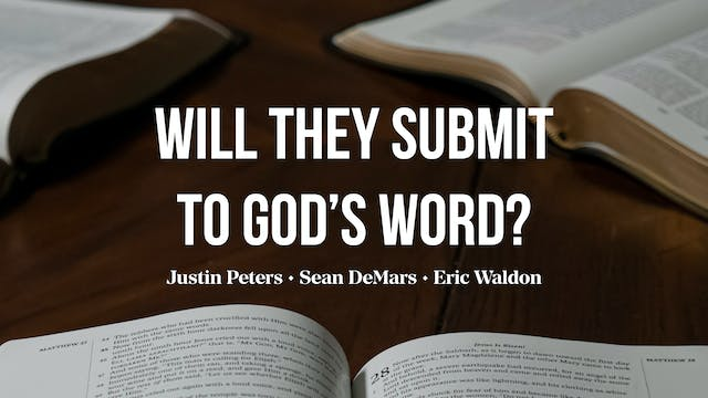 Will They Submit to God's Word? - AG ...