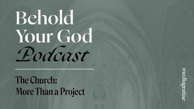 The Church I: More Than a Project - B...