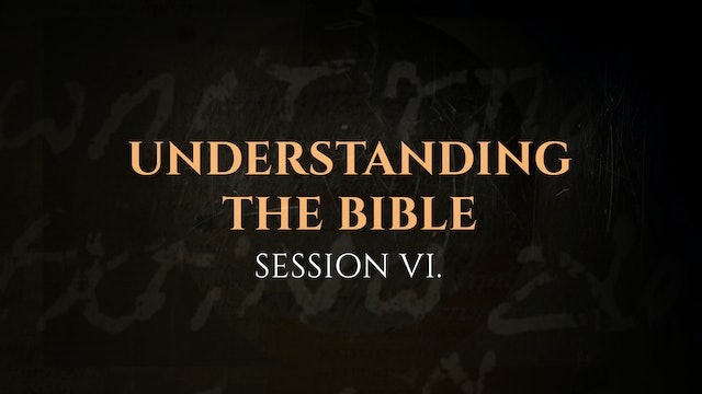 Understanding the Bible - Session 6 - The God Who Speaks: Sunday School Kit