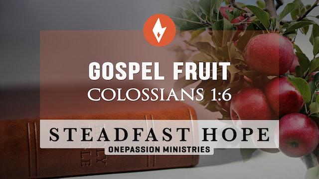 Gospel Fruit - Steadfast Hope - Dr. Steven J. Lawson - 5/10/21