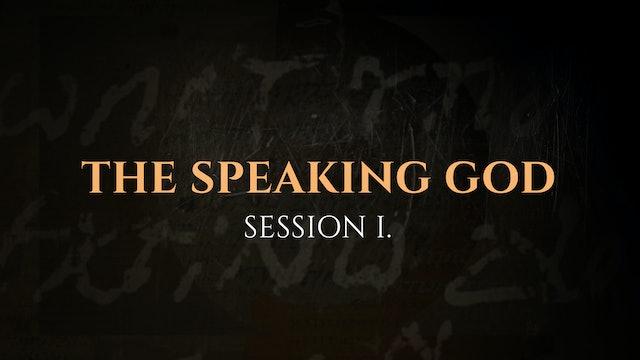 The Speaking God - Session 1 – The God Who Speaks: Sunday School Kit
