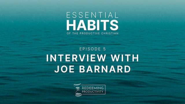 Interview with Joe Barnard - S01.E05 ...