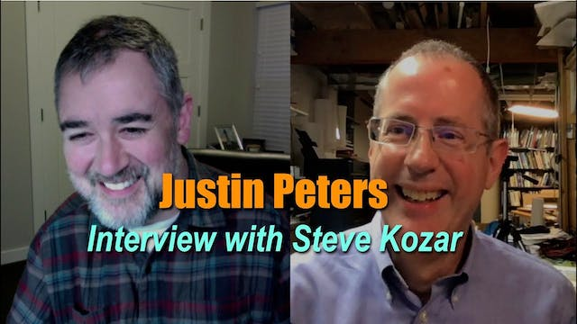 Justin Peters Interview with Steve Kozar