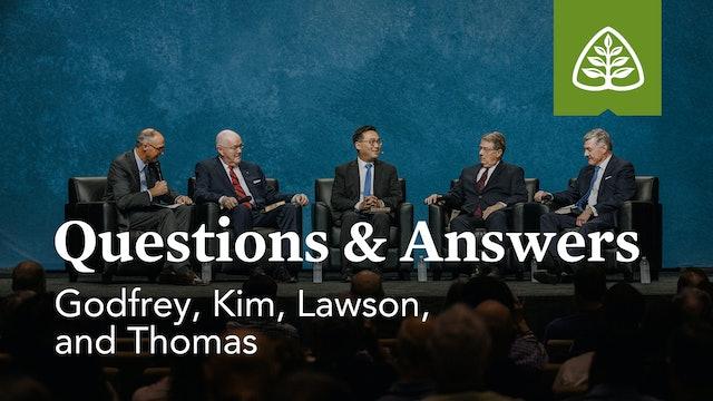 Questions & Answers - Godfrey, Kim, Lawson, and Thomas – Ligonier