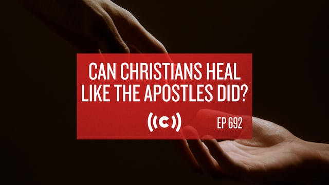Can Christians Heal Like the Apostles...