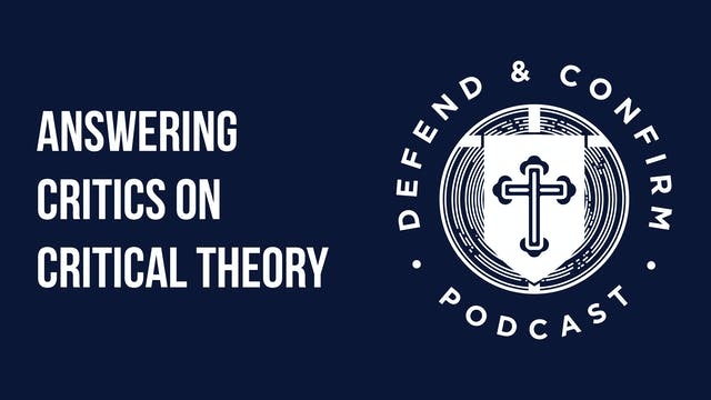 Answering Critics on Critical Theory ...