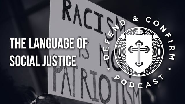 The Language of Social Justice - Defe...