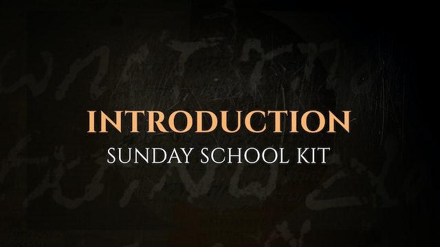Introduction - The God Who Speaks: Sunday School Kit