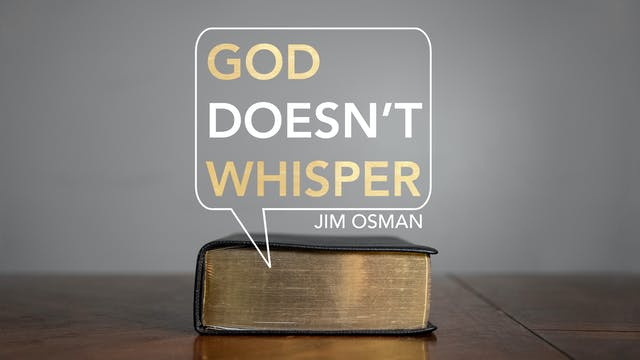 God Doesn't Whisper - Series Preview ...
