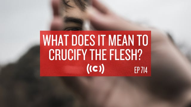 What Does It Mean To Crucify The Fles...