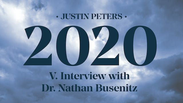 2020: Interview with Dr. Nathan Busen...
