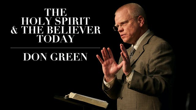The Holy Spirit & The Believer Today ...