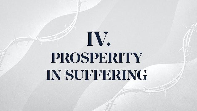 Christ Alone - Chapter 4: Prosperity in Suffering