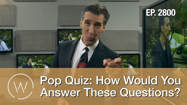 Pop Quiz: How Would You Answer These Questions? - Wretched TV