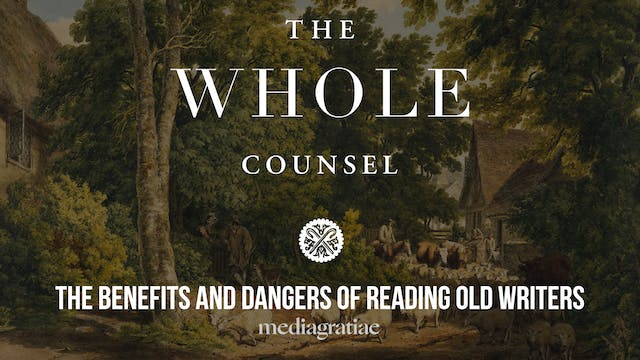 Benefits and Dangers of Reading Old W...