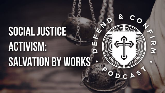 Social Justice Activism: Salvation by...