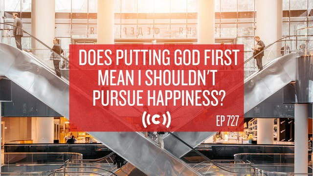Does Putting God First Mean I Shouldn...