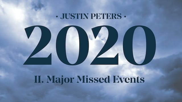 2020: Major Missed Events (Part 2) - ...