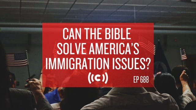 Can the Bible solve America's immigra...