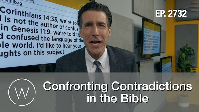 Confronting Contradictions in the Bible - Wretched TV
