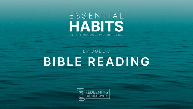 Bible Reading - S01.E07 - Redeeming P...