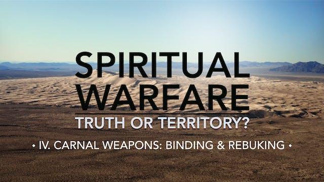 Binding & Rebuking - E.4 - Spiritual ...