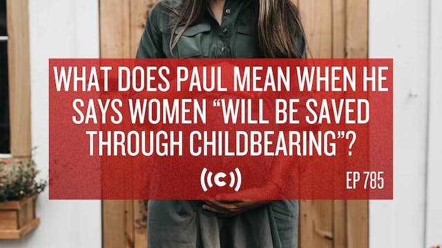 What Does Paul Mean When He Says Wome...