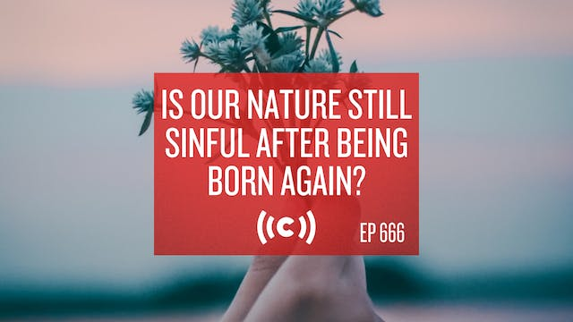 Is Our Nature Still Sinful After Bei...