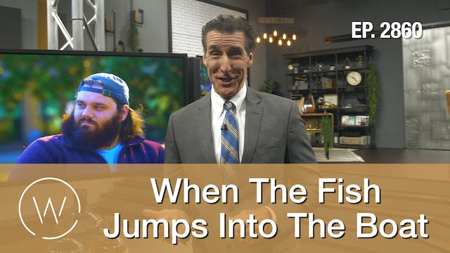 When The Fish Jumps Into The Boat - W...
