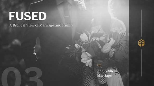 The Biblical Marriage (Session 3) - Fused -  For the Gospel