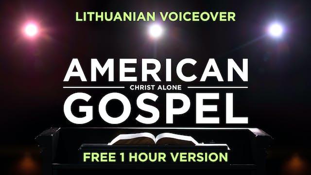 Amerikietiska Evangelija: Tik Kristus...