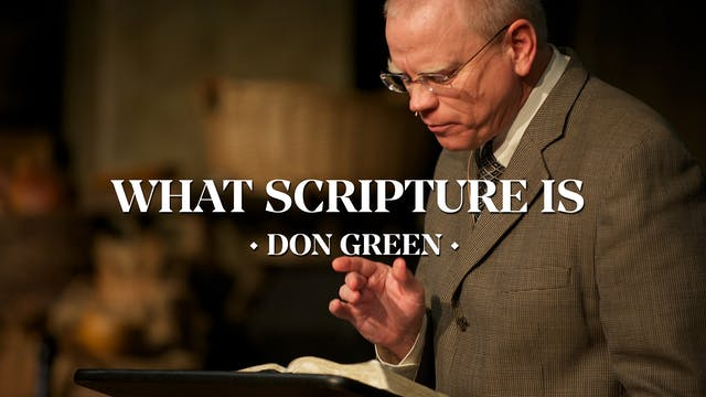 What Scripture Is (Psalm 119) - Pasto...