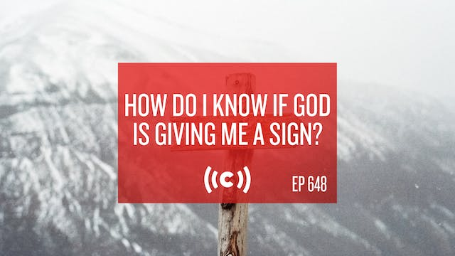 How Do I Know If God is Giving Me a S...