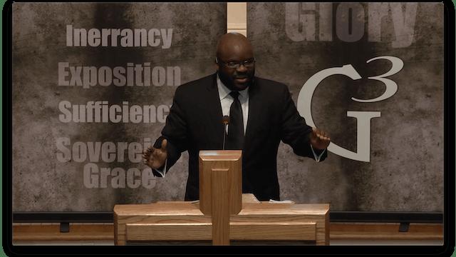 Preach the Word - H.B. Charles Jr. (G3 2015)