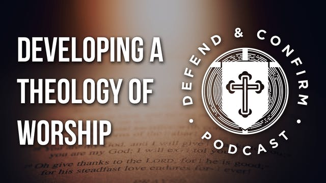 Developing a Theology of Worship - De...