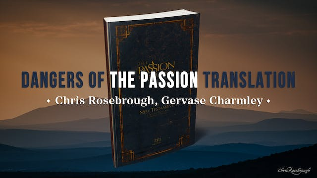 """""""Dangers of the Passion Translation"""" ..."""