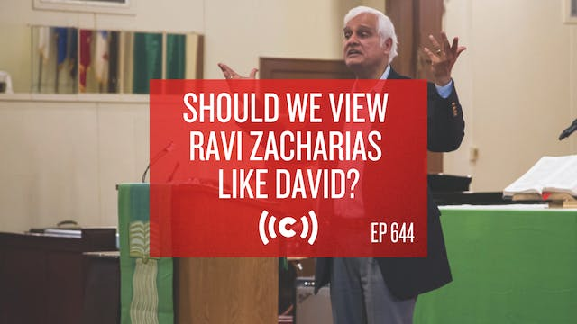Should We View Ravi Zacharias Like Da...