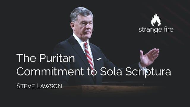 The Puritan Commitment to Sola Script...
