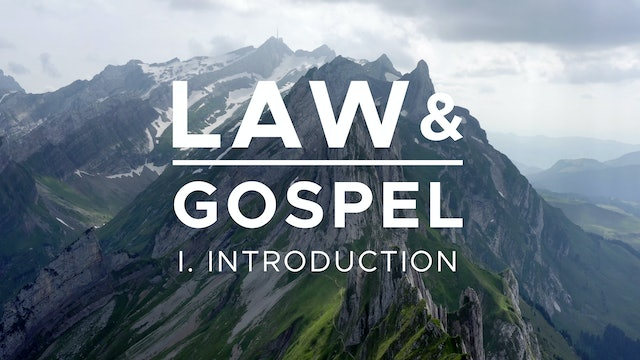 Introduction - Law & Gospel (Ep. 1) - Mike Abendroth