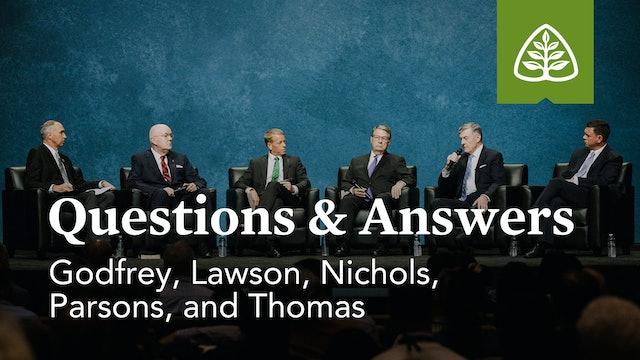 Questions & Answers with Godfrey, Lawson, Nichols, Parsons, & Thomas – Ligonier