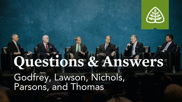 Questions & Answers with Godfrey, Law...