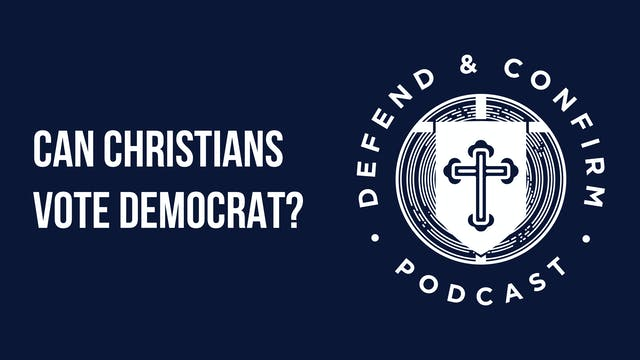 Can Christians vote Democrat? - Defen...