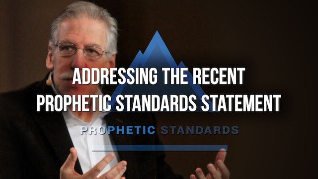 Interview with Phil Johnson RE Prophetic Standards Statement - Chris Rosebrough