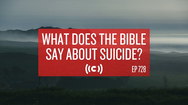 What Does the Bible Say About Suicide...