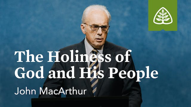 The Holiness of God and His People – ...