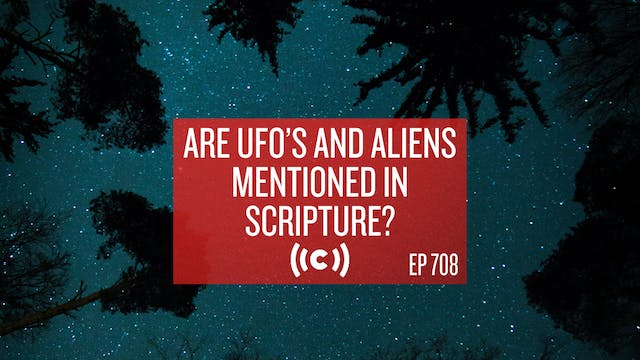 Are UFO's and Aliens Mentioned in Scr...