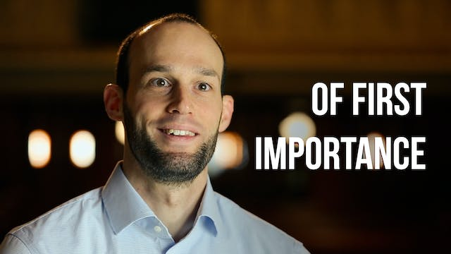 Of First Importance - Phill Howell - ...